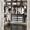 Меш корзина для декор рамок, графит - Применение в гардеробной