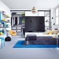 Выдвижная  mesh-корзина, глубина 450мм - Применение в спальне