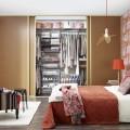Клипса крепления навесной направляющей - Применение в спальне