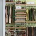 Настенная направляющая - Применение в гардеробной