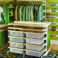 Комплект стабілізаціїї верх-низ - Застосування в гардеробній