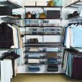 Корзины для применения в стеллажах и в Decor, глубина 40см - Применение в гардеробной