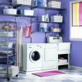 Навісна направляюча - Застосування в пральнею, ванною