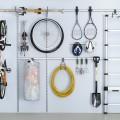 Двойной круглый крючок - Применение в гаражe