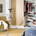 Кронштейн для проволочной полки - Применение в спальне
