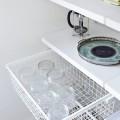 Висувний кошик велика сітка,глибина 430 мм - Застосування на кухні