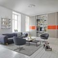 Декоративная вставка в направляющие - Применение в гостиной