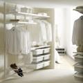 Выдвижная mesh-корзина, глубина 350мм - Применение в гардеробной
