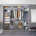 Декоративная вставка в направляющие - Применение в шкафах-купе