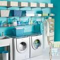 Разделитель для меш корзины, графит - Применение в постирочнной, ванной