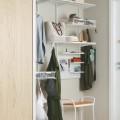 Меш-корзины настенные - Применение в шкафах-купе