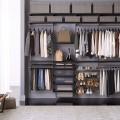 Декоративная вставка в направляющие - Применение в гардеробной