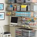 Перфорована панель на настінний рельс - Застосування в офісі