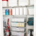 Выдвижная  mesh-корзина, глубина 450мм - Применение в постирочнной, ванной