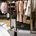 Висувна полиця для взуття з каблуком, 600мм, графіт - Застосування в спальні