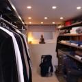 Висувна брючниця 605мм, графіт - Застосування в гардеробній