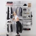 Полка для обуви одинарная, ширина 605мм - Применение в гардеробной