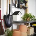 Подвесная вешалка под полку - Применение в гаражe