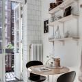 Висувний вішак  під сітчату полицю - Застосування на кухні