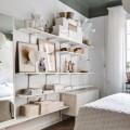 Разделитель полки-корзины - Применение в спальне