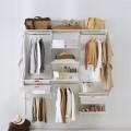 Декор вставка в рельс - Застосування в гардеробній
