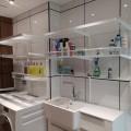 Боковина кронштейна, графит - Применение в постирочнной, ванной