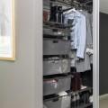 Штанги для вішаків та аксесуарів - Застосування в спальні