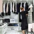 Полиці Decor - Застосування в гардеробній