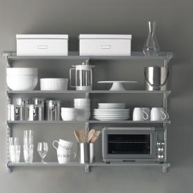 Полиці для зберігання на кухні