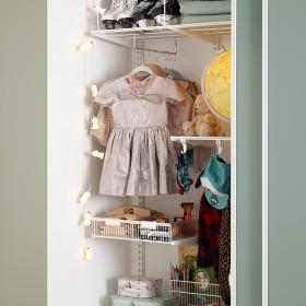 Дитяча кімната. Шафа-купе(полиці)