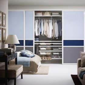 Система хранения в спальне. Шкаф-купе
