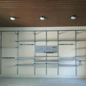Система зберігання Elfa у гаражі