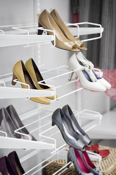 Висувні полиці для взуття Elfa
