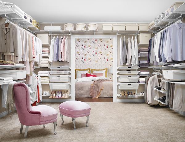 Стильні меблі для гардеробної